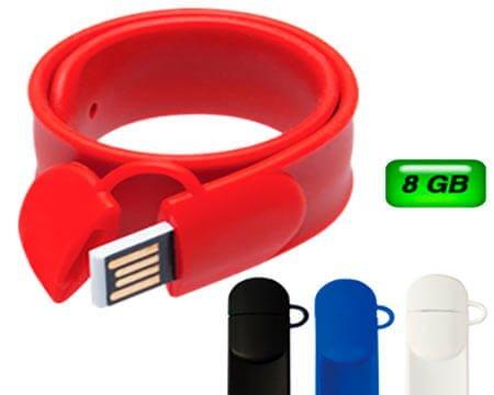 8c5a8afe5da8 USB Pulsera Slap 8GB Mod. 06-USB116 - Articulos Promocionales CDMX