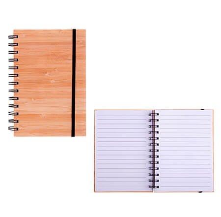 libretas de madera personalizadas