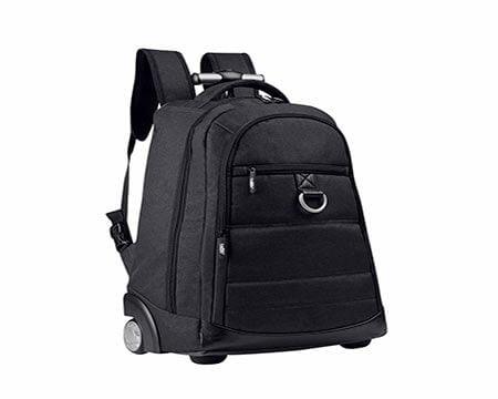 mochila promocional con ruedas